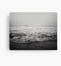 Ocean Crash Canvas Print