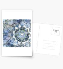 Floating Mandala Postcards
