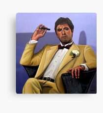 Al Pacino painting Canvas Print