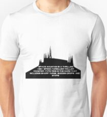 Sudden Drops & Stops - Space Mountain T-Shirt