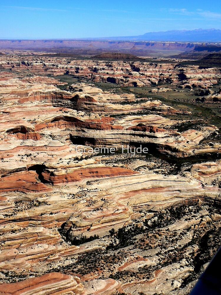Canyonlands Maze by Graeme  Hyde