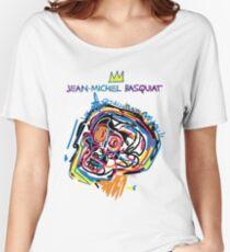 Jean Michel Basquiat Head Version 2 Women's Relaxed Fit T-Shirt