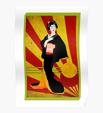 Modern Geisha Poster