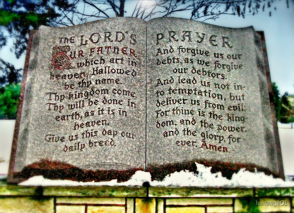 The Lord's Prayer by hammye01
