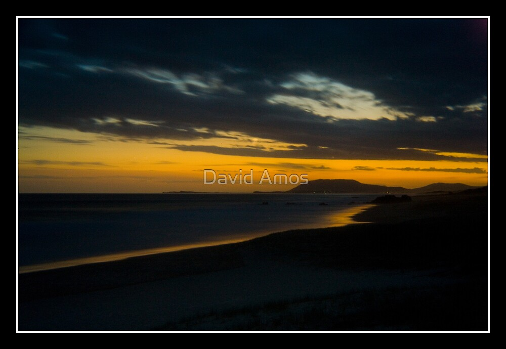 Light House Beach - Pin hole photography by David Amos
