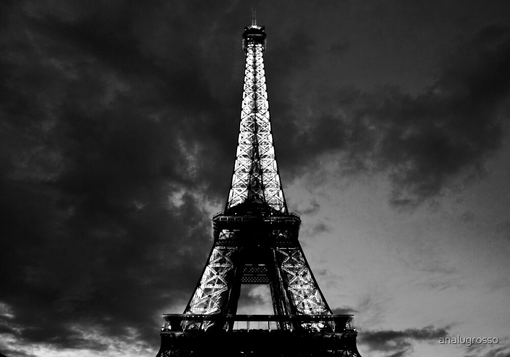 Eiffel Tower by analugrosso