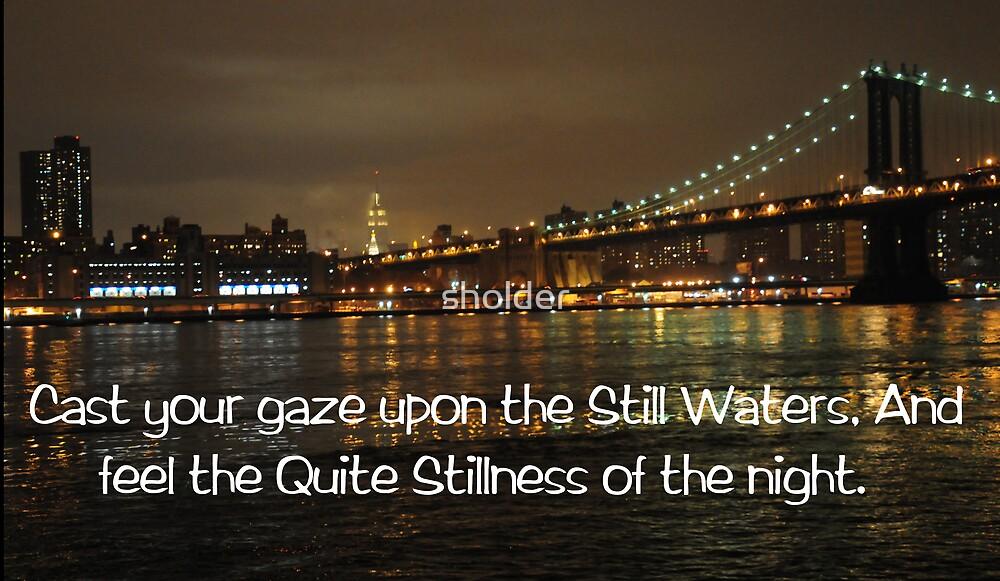 Still Waters by sholder