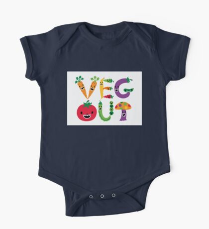 Veg Out - white Kids Clothes