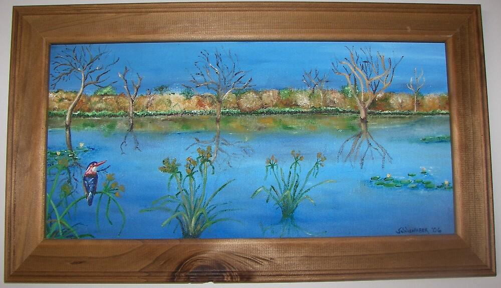 Kingfisher Wetlands by Stephanie Nienaber