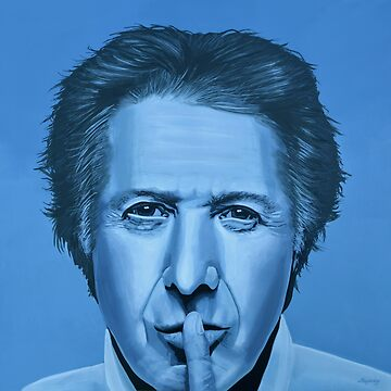 Dustin Hoffman Painting by PaulMeijering