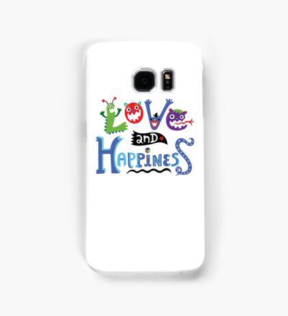 Love & Happiness Samsung Galaxy Case/Skin