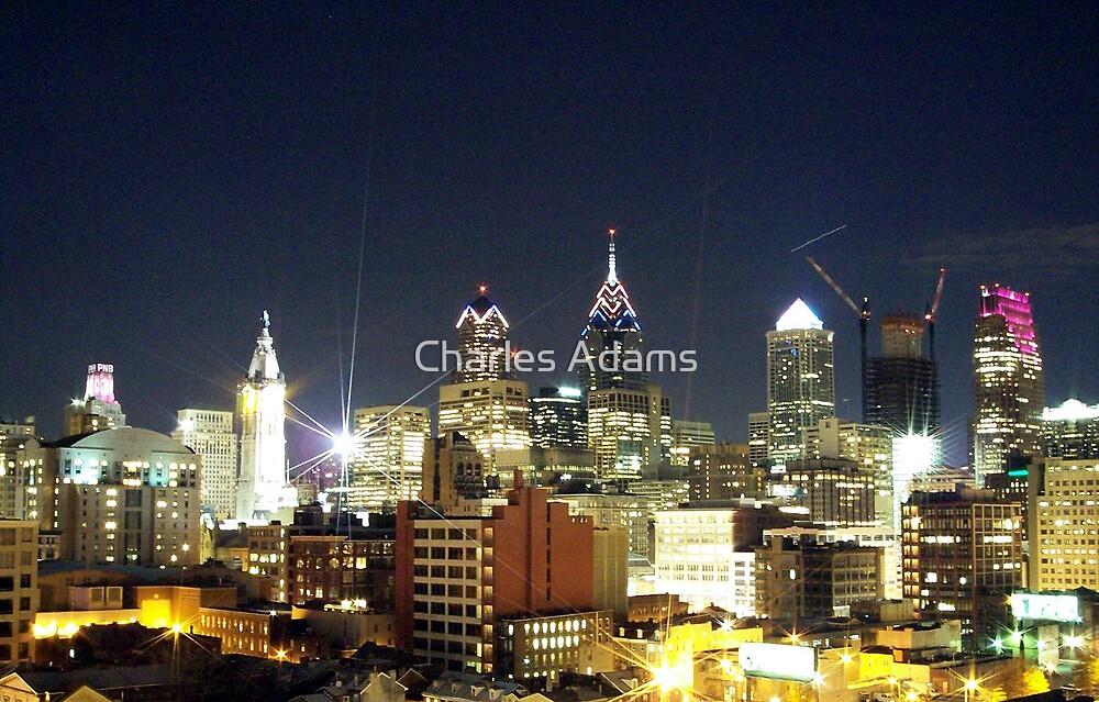 City Lights by Charles Adams
