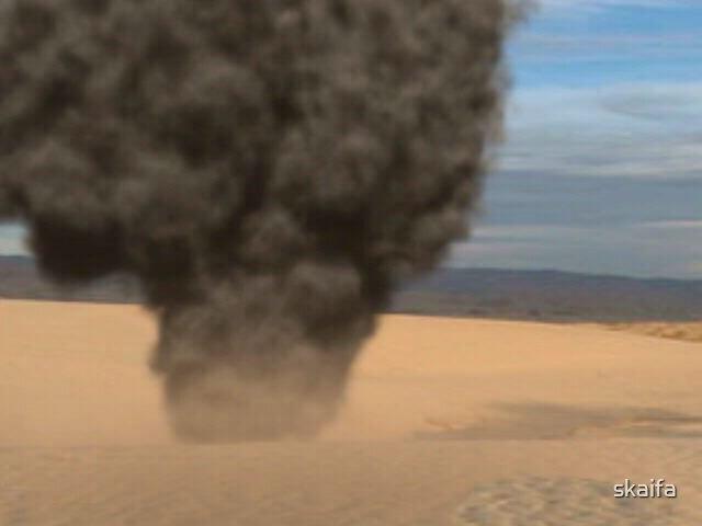 Explosion Smoke & Dust  by skaifa