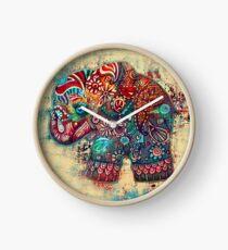 vintage elephant Clock
