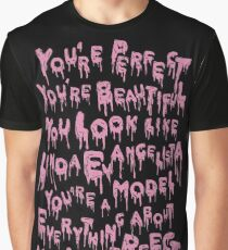 You Look Like Linda Evangelista (Aja / Valentina) Graphic T-Shirt