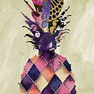 Pineapple Brocade II by mindydidit