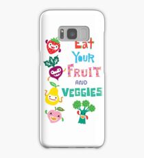 Eat Your Fruit and Veggies Samsung Galaxy Case/Skin