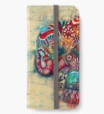vintage elephant  iPhone Wallet/Case/Skin