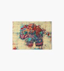 vintage elephant  Art Board