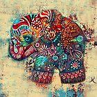 Vintage Elephant TShirt by © Karin Taylor