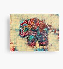 Vintage Elephant TShirt Metal Print