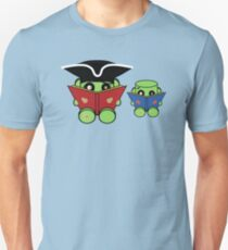 Reading is a Family Affair: The Duende O'BABYBOT Toy Robots 1.0 T-Shirt
