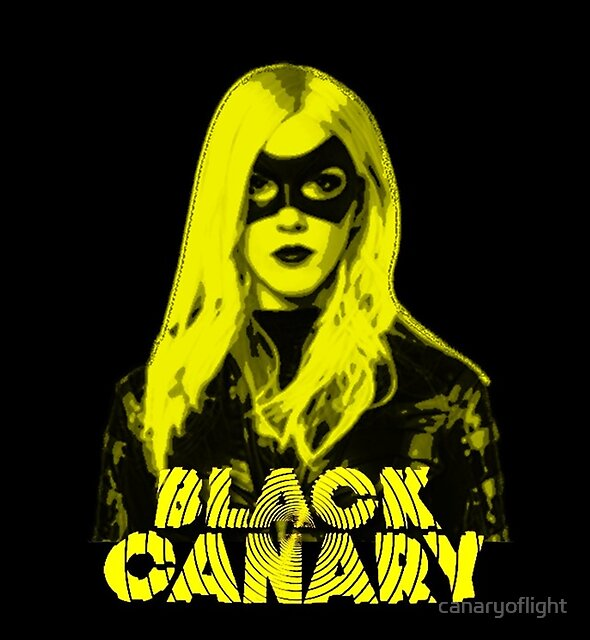 Black Canary by canaryoflight