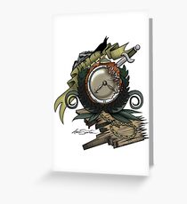 End Of Time Greeting Card