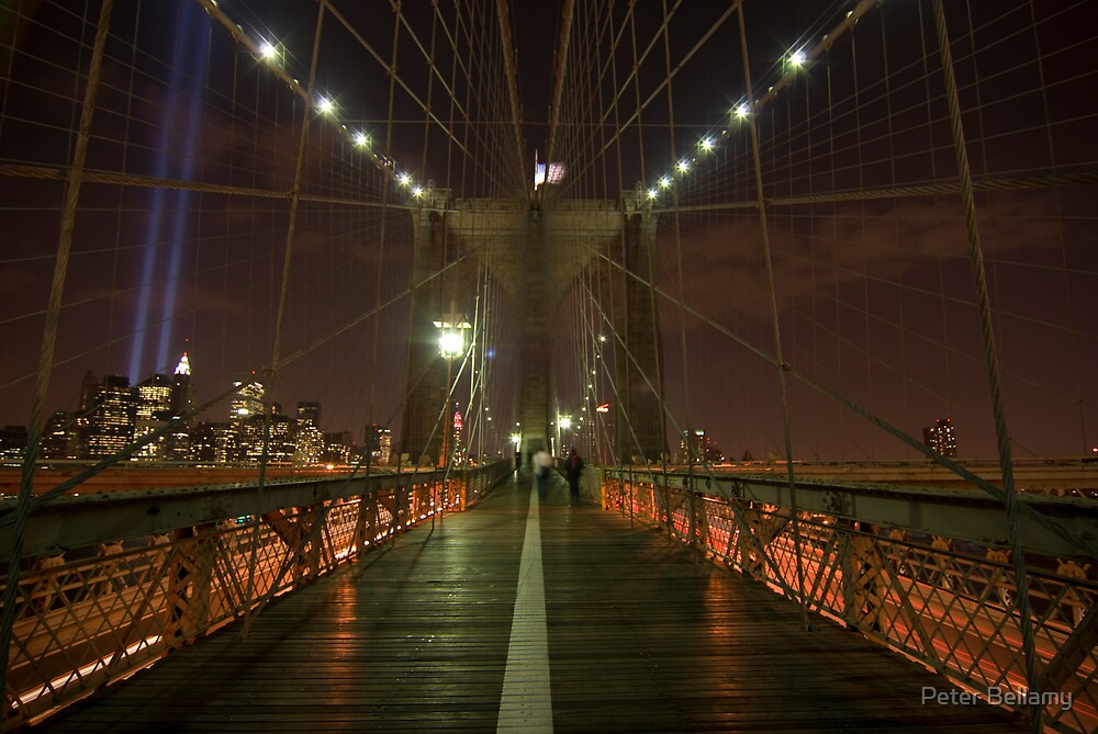 Brooklyn Bridge 911/07 by Peter Bellamy