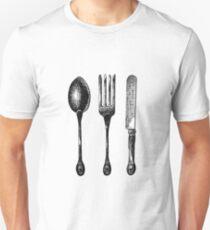 Silverware  Unisex T-Shirt