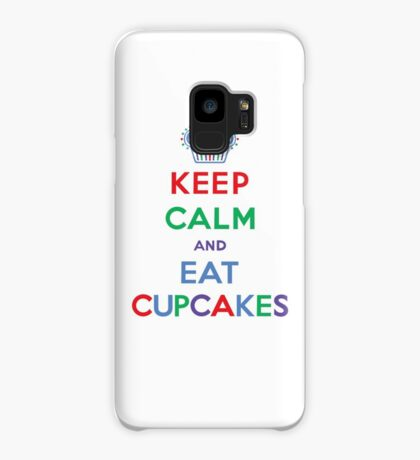 Keep Calm and Eat Cupcakes- primary Case/Skin for Samsung Galaxy
