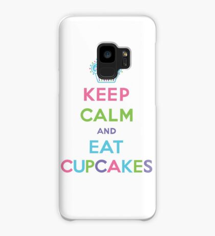 Keep Calm and Eat Cupcakes - pastel Case/Skin for Samsung Galaxy
