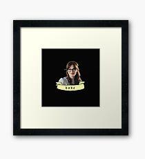 Zooey Deschanel (babe) Framed Print