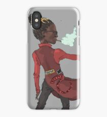 young thug, anime villain iPhone Case