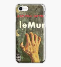 Satre Book cover iPhone Case/Skin