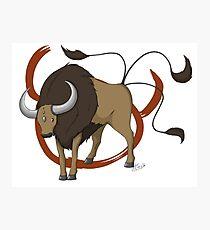 Pokemon Zodiac - Taurus Photographic Print