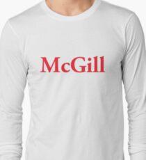 McGill Logo Long Sleeve T-Shirt