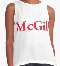 McGill Logo Contrast Tank