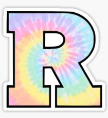 Rutgers R Sticker