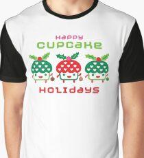 Cupcake Holidays Graphic T-Shirt