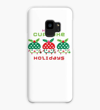 Cupcake Holidays Case/Skin for Samsung Galaxy