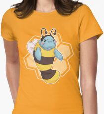 ManaBee Happy! Women's Fitted T-Shirt