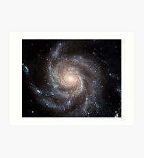Hubble Space Telescope Print 0001 - Hubble's Largest Galaxy Portrait Offers a New High-Definition View Art Print