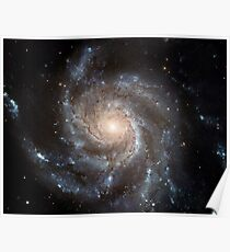 Hubble Space Telescope Print 0001 - Hubble's Largest Galaxy Portrait Offers a New High-Definition View Poster