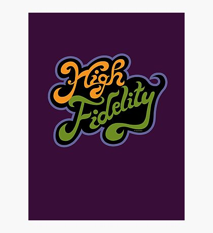 High Fidelity Photographic Print