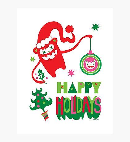 Monster Holidays Photographic Print