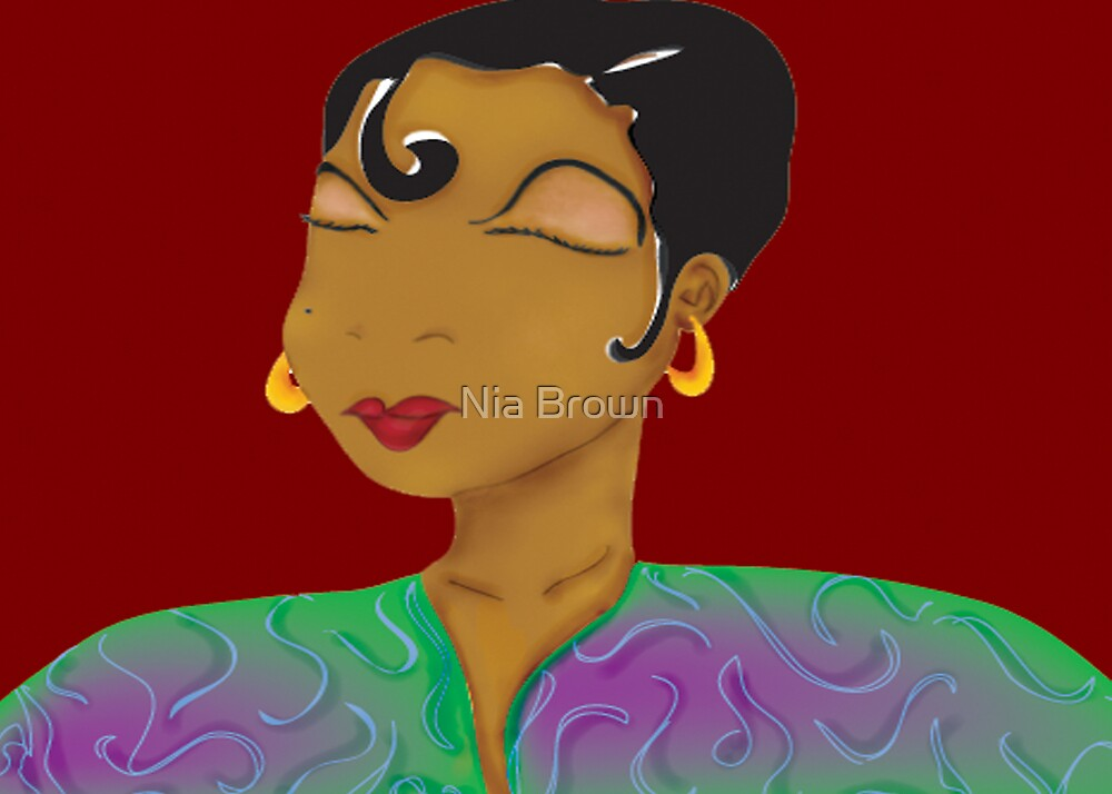 Strong Woman by Nia Brown