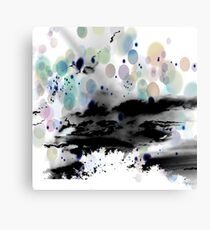 Dark Happiness Canvas Print