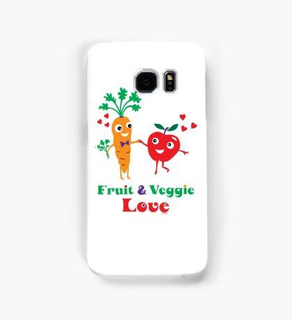 Fruit and Veggie Love Samsung Galaxy Case/Skin