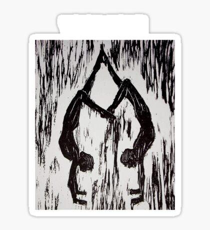 YOGA LOVE Sticker